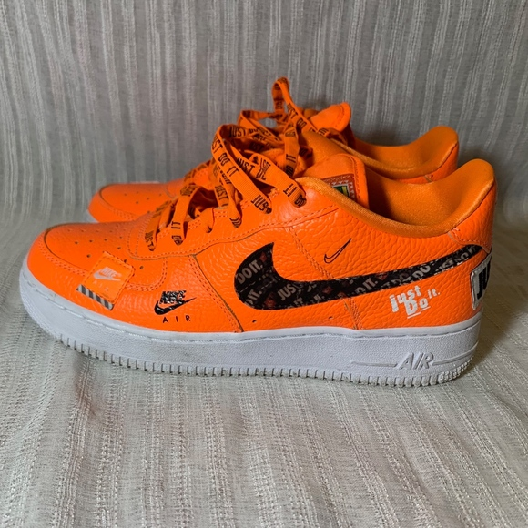 2d8004fd01f Nike Shoes | Air Force 1 Low Just Do It Pack Orange | Poshmark